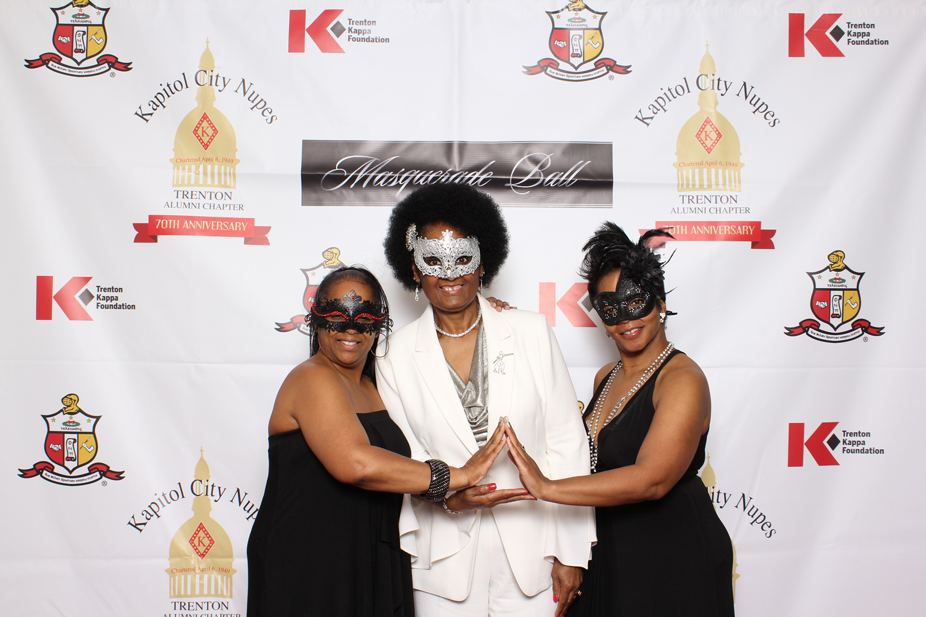 Kappa Masquerade Ball 2019 – VinceTrice Photobooth